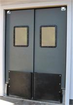 Commercial Doors and Industrial Doors on commercial double swing front doors, commercial swing door open right, commercial glass door freezers, commercial door swing through,