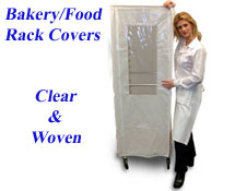 Rack Covers for Bakery and Food Racks